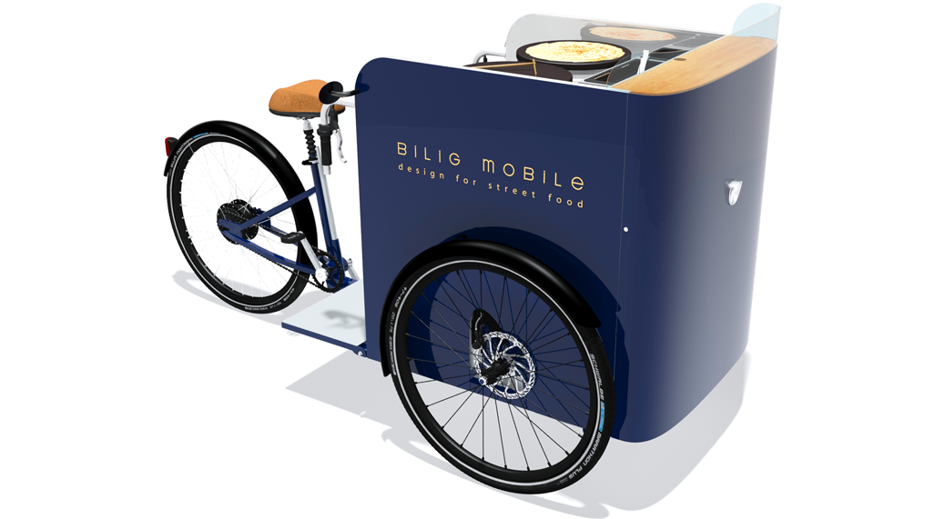 Bilig Mobile Type 26 Food Bike Tricycle