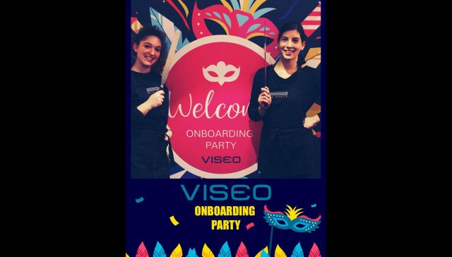 Onboarding Party chez Viseo